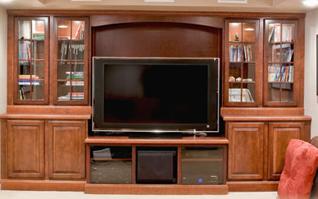 Custom Cabinets Reno | Photo Gallery | Furniture | TV ...